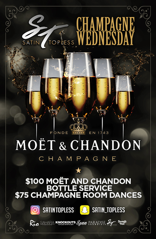 Champagne Wednesday's