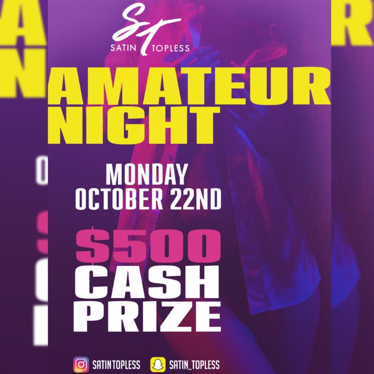 October Amateur Night